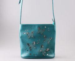 Купить сумку 2611 biruza. sereb. оптом. Отличная сумочка Пекоф 2611 biruza. sereb. оптом только у нас.